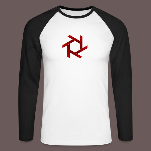 Star - Langærmet herre-baseballshirt
