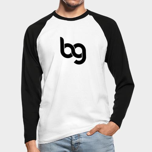 Blackout - Men's Long Sleeve Baseball T-Shirt