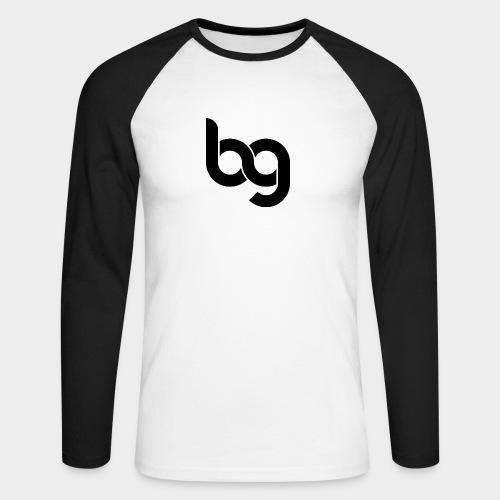 Blackout - Men's Long Sleeve Baseball T-Shirt