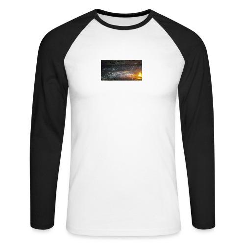 BIEBER - Männer Baseballshirt langarm