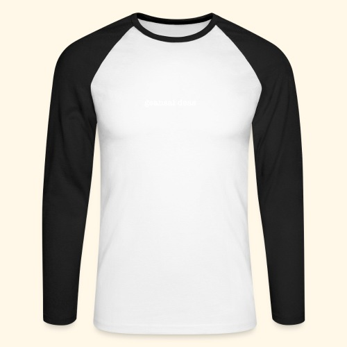 geansai deas - Men's Long Sleeve Baseball T-Shirt