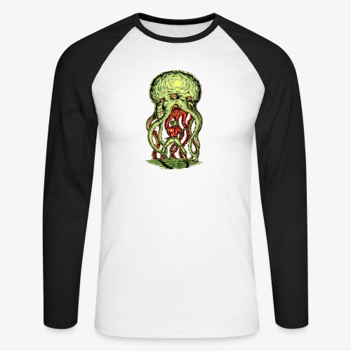 Attaque extraterrestre - T-shirt baseball manches longues Homme