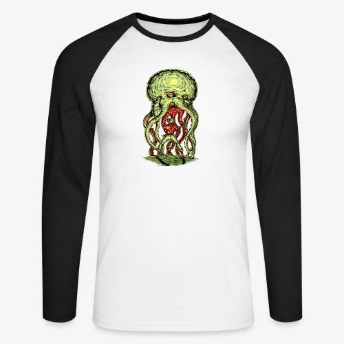 Außerirdischer Angriff - Männer Baseballshirt langarm