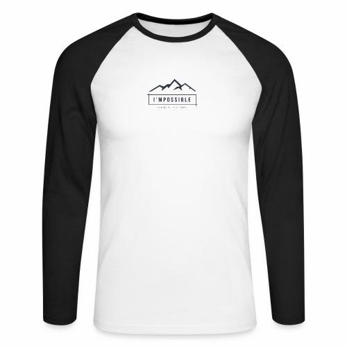 Impossible - Men's Long Sleeve Baseball T-Shirt