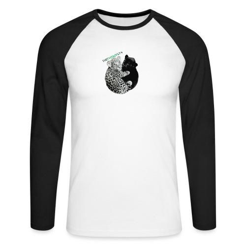 panther jaguar Limited edition - Langærmet herre-baseballshirt