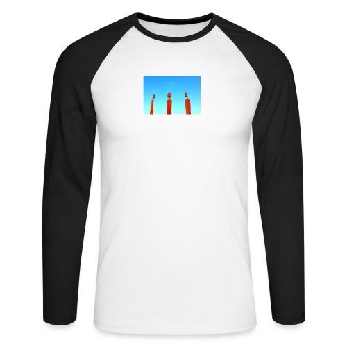 Sahara - Men's Long Sleeve Baseball T-Shirt