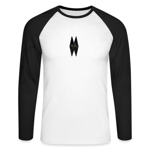 MELWILL black - Men's Long Sleeve Baseball T-Shirt