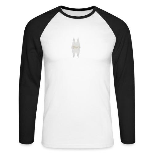 MELWILL white - Men's Long Sleeve Baseball T-Shirt