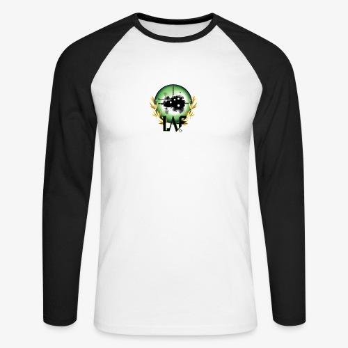 Load Aim Fire Merchandise - Mannen baseballshirt lange mouw
