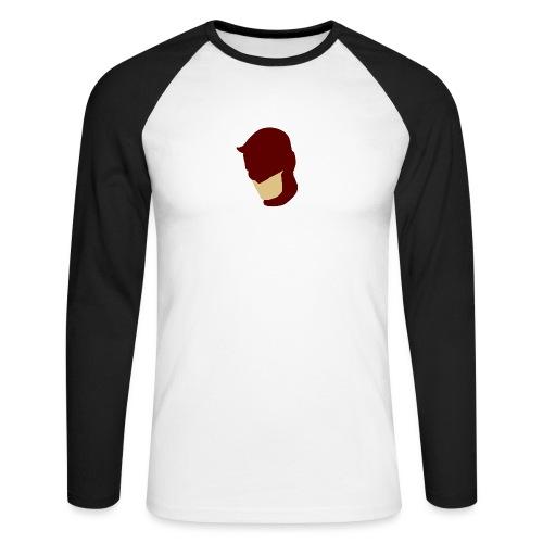 Daredevil Simplistic - Men's Long Sleeve Baseball T-Shirt