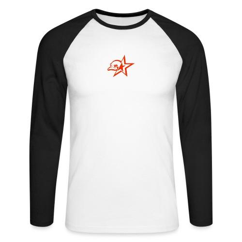 Buschy Bobby Racing League on black - Men's Long Sleeve Baseball T-Shirt