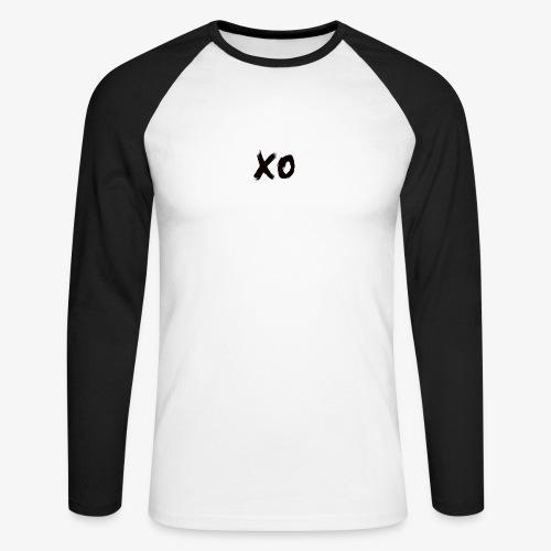 XO. - Men's Long Sleeve Baseball T-Shirt