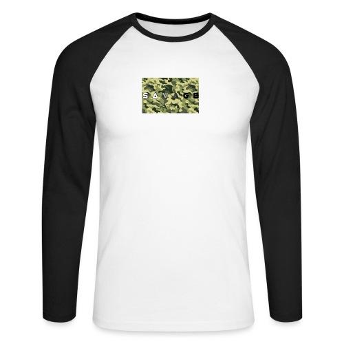 savage camo premium - Männer Baseballshirt langarm