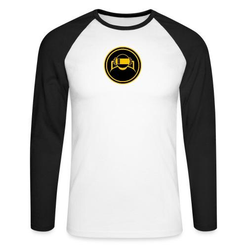 Machine Boy Yellow - Men's Long Sleeve Baseball T-Shirt