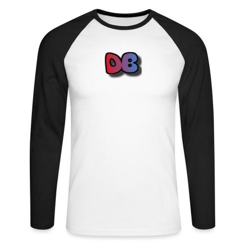 Double Games DB - Mannen baseballshirt lange mouw
