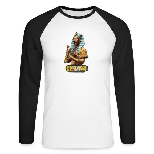 Echnaton - Ach-en-Aton - Der Sohn des ATON - Männer Baseballshirt langarm