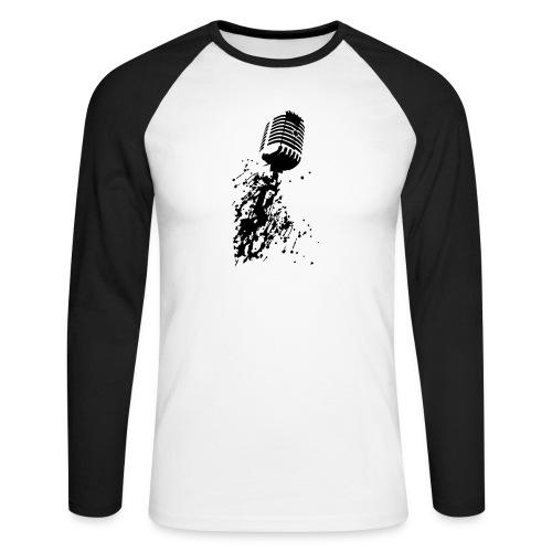 dirtymic - Mannen baseballshirt lange mouw