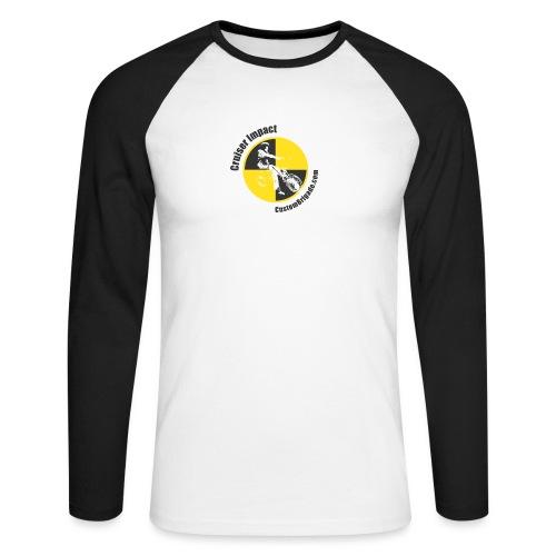 Crash Test 2 - T-shirt baseball manches longues Homme