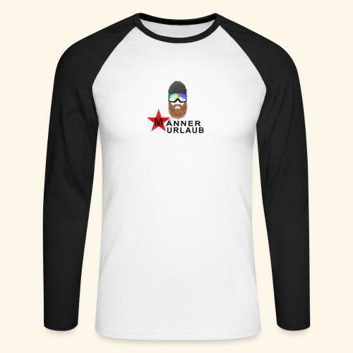 Männerurlaub - Männer Baseballshirt langarm