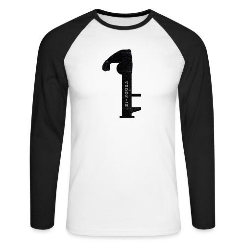 bi zooka - Langærmet herre-baseballshirt
