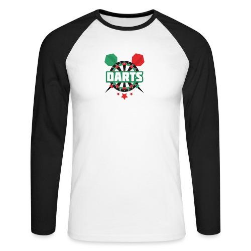 Darts - Mannen baseballshirt lange mouw
