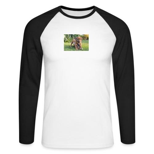 adorable puppies - Men's Long Sleeve Baseball T-Shirt