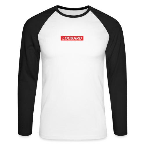 LOUBARD HYPEBEAST - T-shirt baseball manches longues Homme
