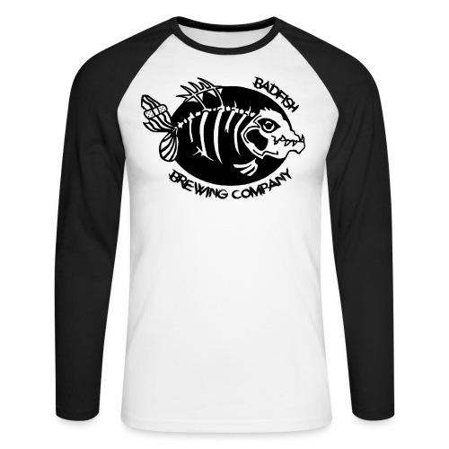 Grand logo devant - T-shirt baseball manches longues Homme