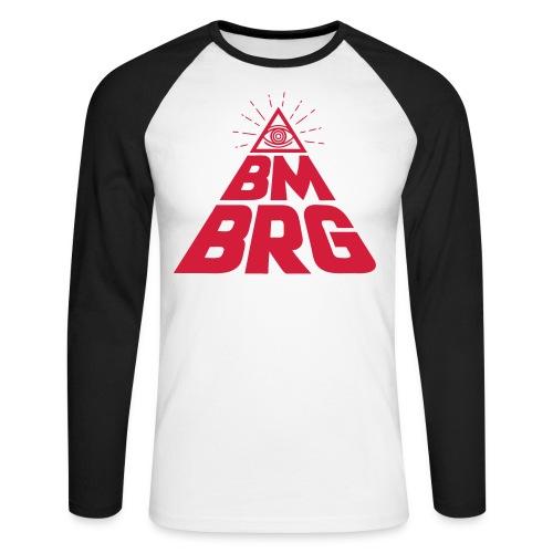BMBRG Auge - Männer Baseballshirt langarm