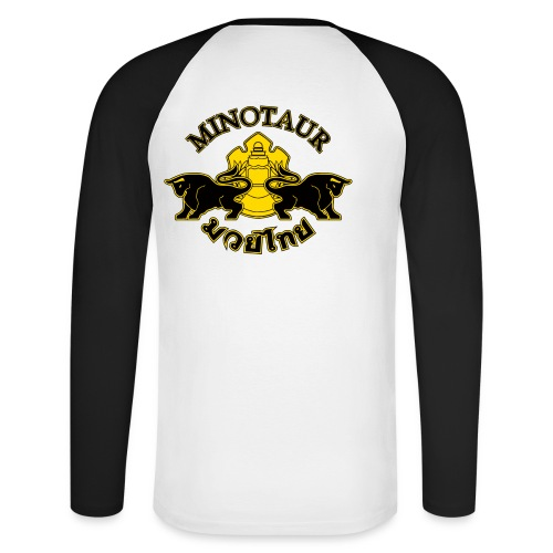 newlogo - Men's Long Sleeve Baseball T-Shirt