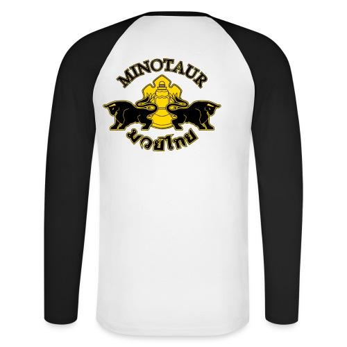 newlogo - Men's Long Sleeve Baseball T-Shirt