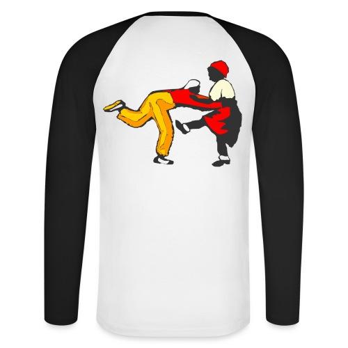 Do The Lindy Hop Back - Långärmad basebolltröja herr