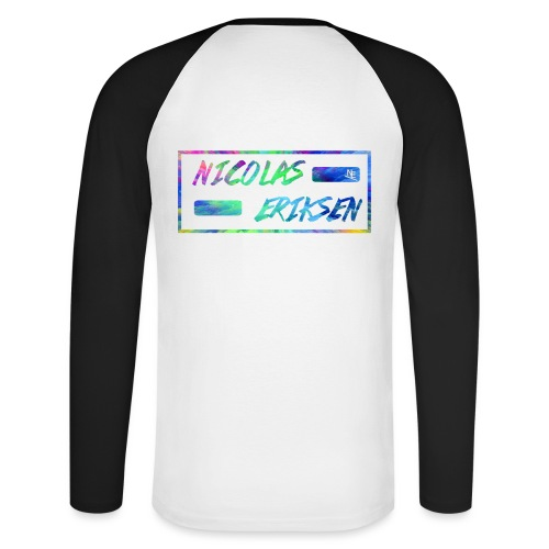 NE Premium - Langermet baseball-skjorte for menn