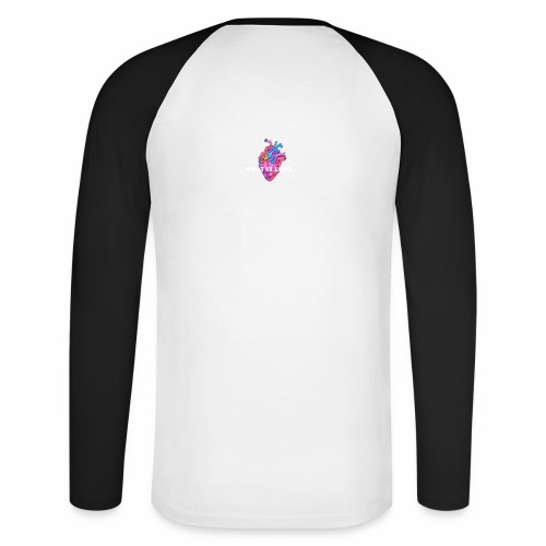 WHAT IS LOVE - Langermet baseball-skjorte for menn