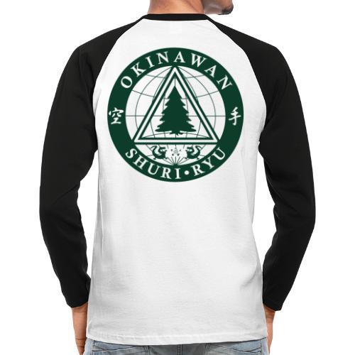 Klubmærke Ryg placering - Langærmet herre-baseballshirt