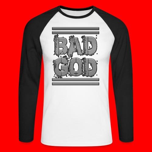 BadGod - Men's Long Sleeve Baseball T-Shirt