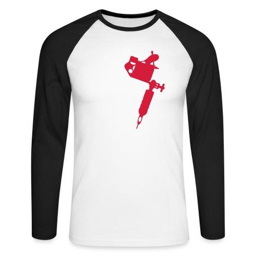 addicted - Männer Baseballshirt langarm