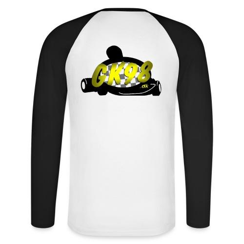 GK98dk2015 png - Langærmet herre-baseballshirt