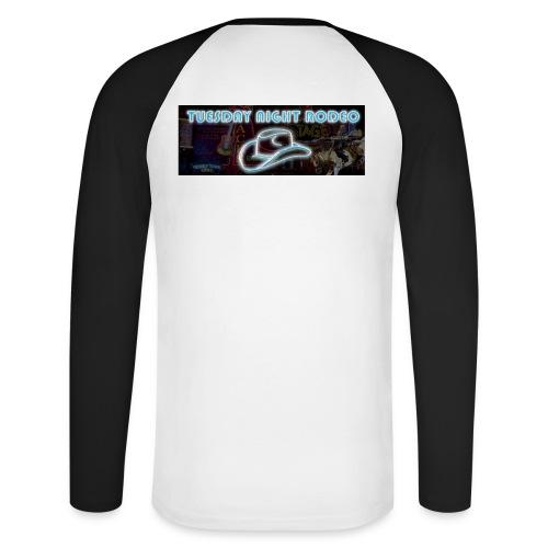 FB Banner TNR - Men's Long Sleeve Baseball T-Shirt