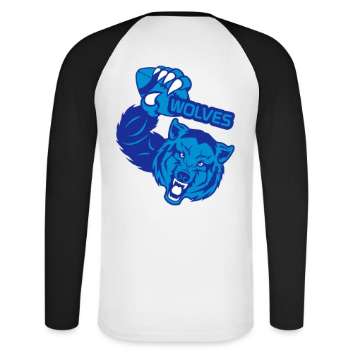 Wolves Rugby - T-shirt baseball manches longues Homme