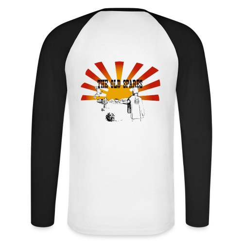 PickTshirt - Långärmad basebolltröja herr