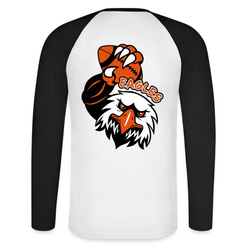 Eagles Rugby - T-shirt baseball manches longues Homme