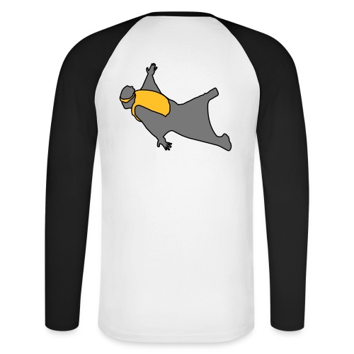 wingsuit 2 - T-shirt baseball manches longues Homme