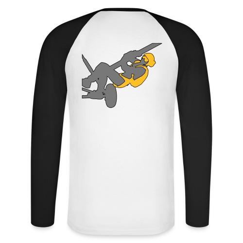 hauban 2 - T-shirt baseball manches longues Homme