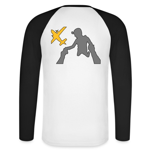 site exit 2 - T-shirt baseball manches longues Homme