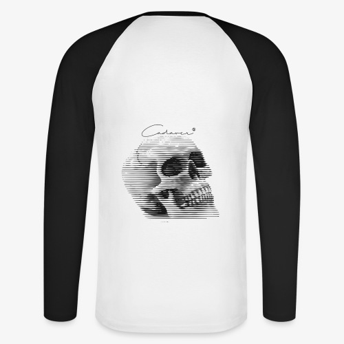 CadaverSkull - Raglán manga larga hombre