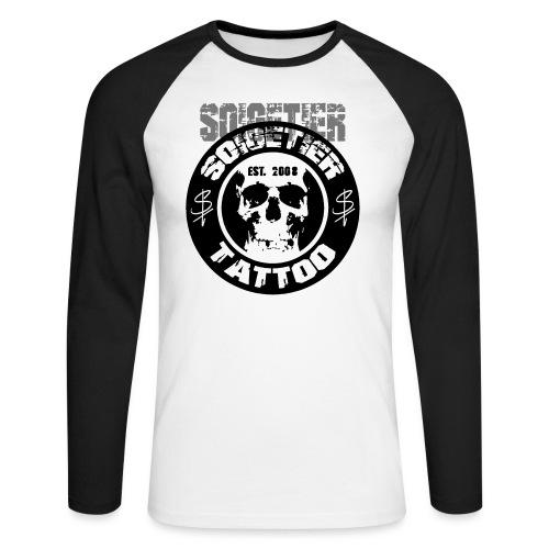 logo bad1 - Männer Baseballshirt langarm