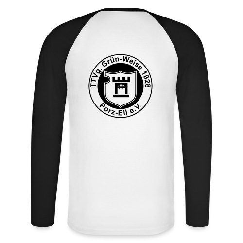 gw eil logo cs2 - Männer Baseballshirt langarm