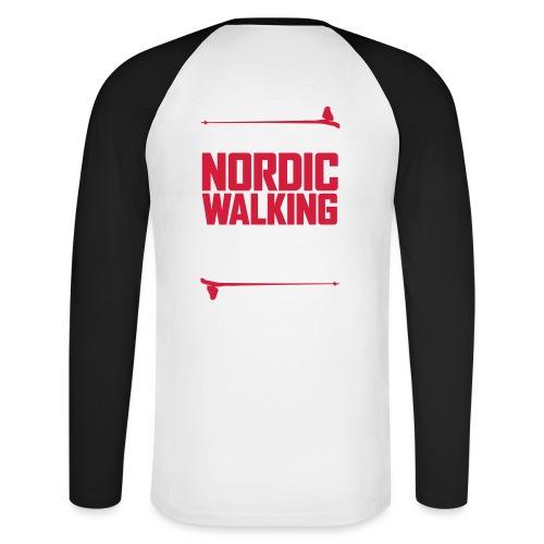 It's more than Nordic Walking - Miesten pitkähihainen baseballpaita