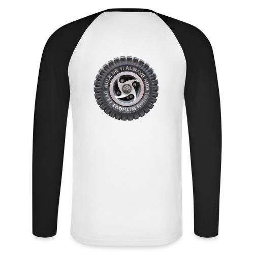 toughwheels - Mannen baseballshirt lange mouw